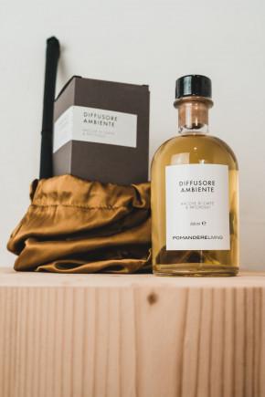 Pomandère I Room Cedar Bergamot